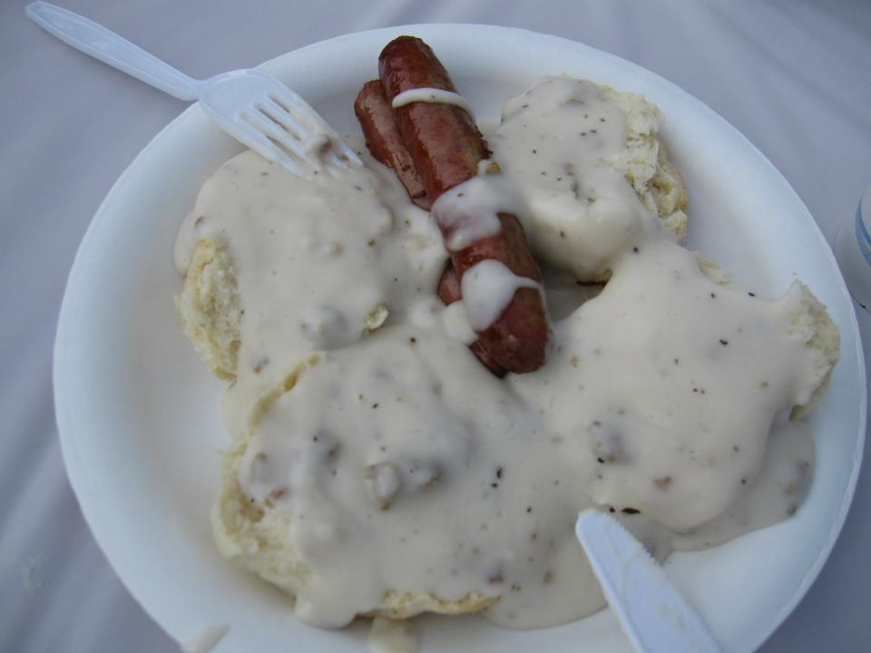 Erie Colorado Biscuity Day - Biscuits and Gravy